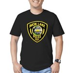 Avon Lake Police Men's Fitted T-Shirt (dark)