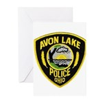 Avon Lake Police Greeting Cards (Pk of 20)