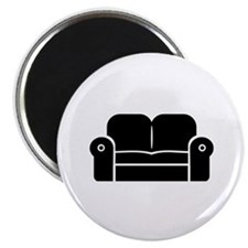 """Couch 2.25"""" Magnet (10 pack)"""