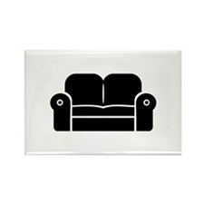Couch Rectangle Magnet (100 pack)