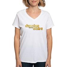 DWTS Logo Women's V-Neck T-Shirt