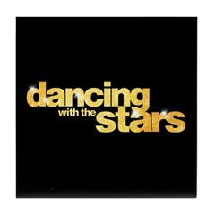 DWTS Logo Tile Coaster
