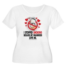 Stopped Smoking Grandkids T-Shirt