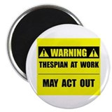 "Thespian At Work 2.25"" Magnet (100 pack)"