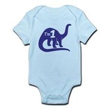 Cute One Year Old Infant Bodysuit