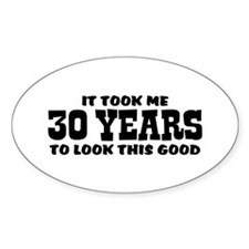 Funny 30th Birthday Decal