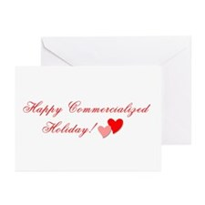 Commercialized Holiday Greeting Cards (Package of