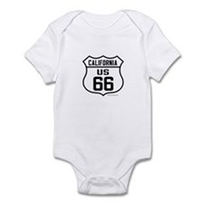 Cute Route 66 california Infant Bodysuit