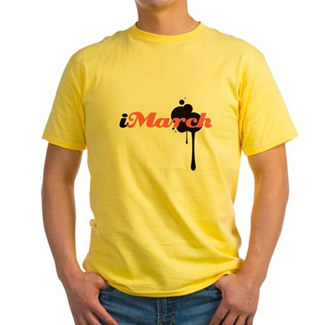 iMarch Yellow T-Shirt