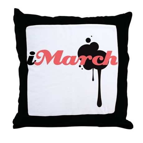 iMarch Throw Pillow