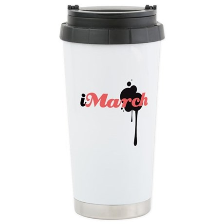 iMarch Ceramic Travel Mug