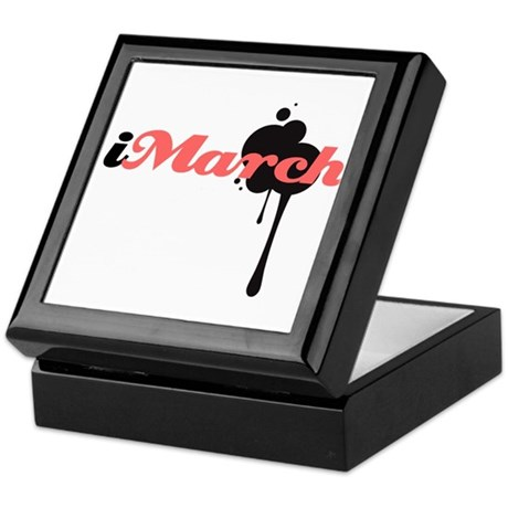 iMarch Keepsake Box