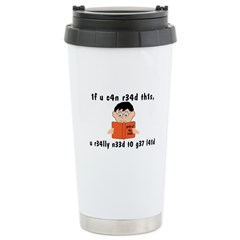 Geek Of The Week Ceramic Travel Mug
