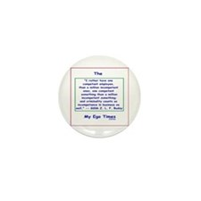 Philosophical Quote Mini Button (10 pack)