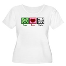 Peace Love Radio T-Shirt