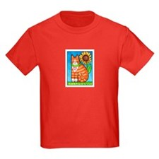 GINGER TUX...Kids T-Shirt ( 4 Colors)