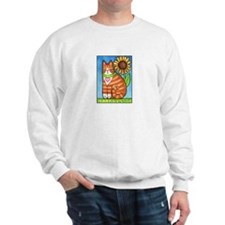 GINGER TUX... Adult Fleece Sweatshirt