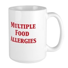 Cute Allergic to nuts Mug