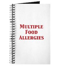 Unique Allergic nuts Journal