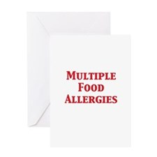 Funny Allergy Greeting Card