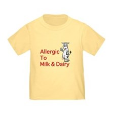 Funny Allergic to dairy T
