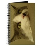 Kitty Cat Face Journal