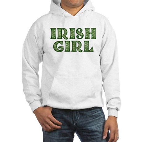 Irish Girl Hooded Sweatshirt