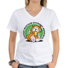 Muscular Dystrophy Cat Shirt