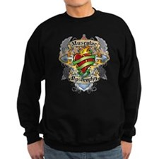 Muscular Dystrophy Cross And Sweatshirt