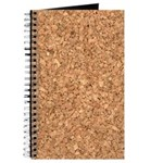 Recycled Corkboard Journal