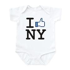 I Like New York Infant Bodysuit