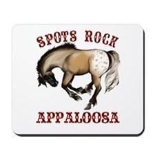 More Spots Rock Shirt Mousepad