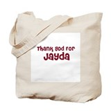 Thank God For Jayda Tote Bag