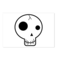 Happy Fun Skull Postcards (Package of 8)