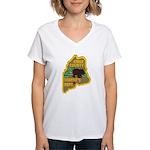 Knox County Sheriff Women's V-Neck T-Shirt