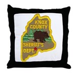 Knox County Sheriff Throw Pillow