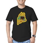 Knox County Sheriff Men's Fitted T-Shirt (dark)