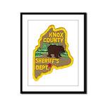 Knox County Sheriff Framed Panel Print