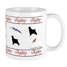 Cockers Love Agility Mug