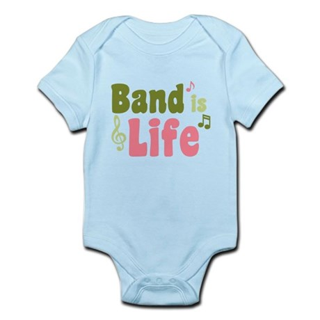 Band is Life Infant Bodysuit