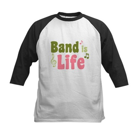Band is Life Kids Baseball Jersey