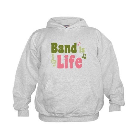 Band is Life Kids Hoodie