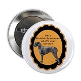 "Deerhound excuse 2.25"" Button (100 pack)"