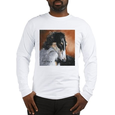 Borzoi by Dawn Secord Long Sleeve T-Shirt