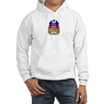 Quebec Shield Hooded Sweatshirt
