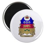 Quebec Shield Magnet