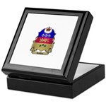 Quebec Shield Keepsake Box