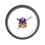 Quebec Shield Wall Clock