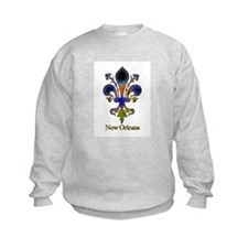New Orleans colorful Fleur Sweatshirt