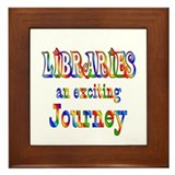 Library Framed Tile